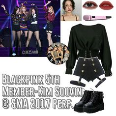 is typing. 🍐ღ ۵ 🖇 pm 🍃ღ 1029 ۵ 🔗 - [qotd) ❥ ❝ Thinks take time ❞ - I can't choose between these two so… Blackpink Fashion, Kpop Fashion Outfits, Girls Fashion Clothes, Stage Outfits, Edgy Outfits, Dance Outfits, Pretty Outfits, Korean Fashion, Clothes For Women
