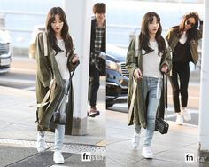 170401 SNSD Airport Fashion - K-StarGlamour - KPOP Fashion & Korean Drama Fashion