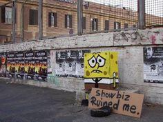 + Arte :   O divertido street art de Paopao.