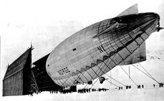 Norge polar airship hangar