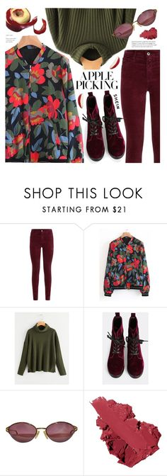 """""""Harvest Time: Apple Picking"""" by meyli-meyli ❤ liked on Polyvore featuring AG Adriano Goldschmied, Christian Dior, Bobbi Brown Cosmetics and applepicking"""