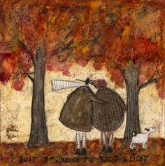 Sam Toft - Just beginning to see the light
