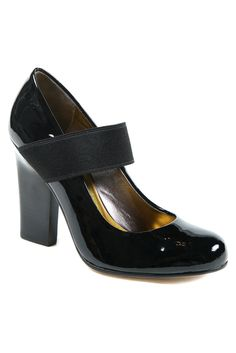 fall 2012, DKNY, shoes, high heels, black