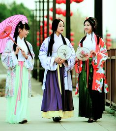Traditional Chinese fashions