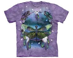 Dragonfly Dreamcatcher Gardening Shirt. Native American shirts and goodies