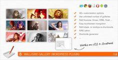 Wall/Grid Gallery (WordPress Plugin)
