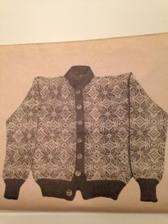 Herrekofte Vintage Knitting, Vests, Scandinavian, Knitting Patterns, Diva, Sweaters, Fashion, Moda, La Mode