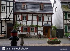Marktplatz, Erpel, Rhine, Germany Stock Photo, Royalty Free Image: 26874220 - Alamy