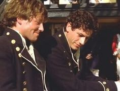 Archie Kennedy & Horatio Hornblower