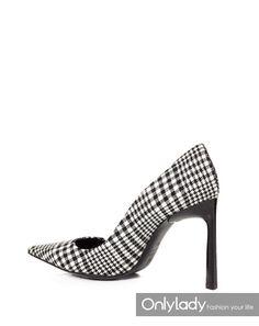 「格紋高跟鞋」的圖片搜尋結果