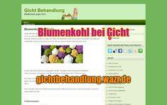 Blumenkohl bei Gicht - Lebensmittel / Ernährung Gout, Cauliflowers, Asparagus