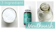 Unless you source a natural mouthwash, chances are the ingredient list is not pretty. Learn how to make a simple homemade mouthwash at home using only 3 ingredients!