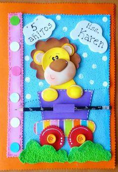 Kids Crafts, Foam Crafts, Cute Crafts, Diy Notebook, Decorate Notebook, Scrapbook Journal, Diy Scrapbook, Diy Paper, Paper Crafts