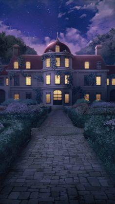 Scenery Background, Book Background, Castle Background, Episode Interactive Backgrounds, Episode Backgrounds, Anime Backgrounds Wallpapers, Anime Scenery Wallpaper, Casa Anime, Desenhos Love