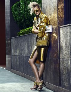 "Caroline Trentini in ""Conexão Fashion"" by Fabio Bartelt for Vogue Brazil, September 2012 (2)"