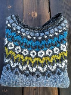 Ravelry: Project Gallery for Riddari pattern by Védís Jónsdóttir for Ístex Knitted dress in ethnic look – free knitting instructions 1000 knitting patterns Knitting Blogs, Knitting Yarn, Free Knitting, Knitting Projects, Tejido Fair Isle, Knitting Patterns, Norwegian Knitting, Icelandic Sweaters, Crafts