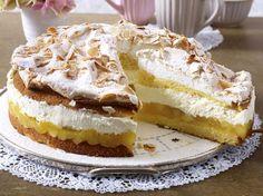 Unser beliebtes Rezept für Apfelbaiser-Torte und mehr als 55.000 weitere kostenlose Rezepte auf LECKER.de.