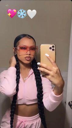 Black Girl Braided Hairstyles, Black Girl Braids, Braids For Black Hair, Girls Braids, Pretty Hairstyles, Baddie Hairstyles, Ponytail Hairstyles, Weave Hairstyles, Hair Ponytail Styles