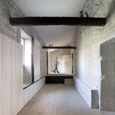 Fundación Rubido Romero - abalo alonso arquitectos Alonso, Architecture Details, Interior Architecture, Stone Houses, Beautiful Interiors, Minimalist House Design, Minimalist Home, Contemporary Interior, Contemporary Architecture