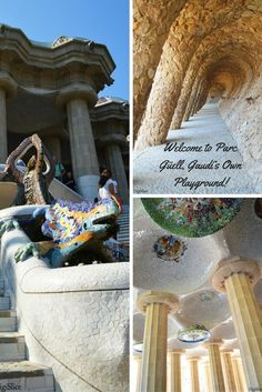 Are you planning your next trip to Barcelona? Read my post about Parc Guell, Gaudi's magic park! #Barcelona #Spain #Gaudi #art #park #Travel #Europe #travelblog #travelblogger