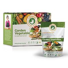 Levana Meal Replacement Garden Vegetable 10 Pouches (10X 50 Gram Pouch) -- Want additional info? Click on the image.