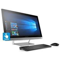 nice HP Pavilion Full HD IPS 23.8-Inches Touchscreen All-in-One Desktop(Quad Core Intel i7-6700T Processor 2.8 GHz, 8GB DDR4 RAM, 1TB 7200RPM HDD, DVD, Bluetooth, Webcam, HDMI, 802.11AC, Windows 10)