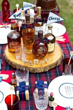 Scotch Party - Fun and Creative 50th Birthday Party Ideas - Photos