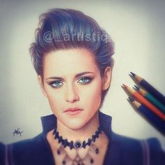 Realistic woman color pencil drawing by Artistiq http://webneel.com/25-beautiful-color-pencil-drawings-valentina-zou-and-drawing-tips-beginners   Design Inspiration http://webneel.com   Follow us www.pinterest.com/webneel