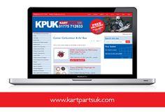 Full ecommerce solution for kartpartsuk.com