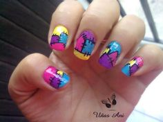 :D sally nails nightmare before christmas