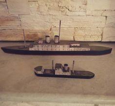 #wooden #ship soon on www.etsy.com/shop/madforcraftgr #wooden_boat #ship #vintage #vintage_ship #art #handmade #handcrafted #craft #sea