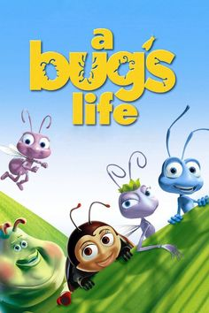 """Get A Bug's Life DVD and Blu-ray release date, trailer, movie poster and movie stats. In the computer animated Pixar movie """"A Bug's Life,"""" eccentric inventor Flik is an ant who is always getting into trouble. His wild ideas often make life more. Mary Poppins 1964, Insect Movies, Life Poster, Pixar Movies, Pixar Characters, Animation Movies, Comedy Movies, A Bug's Life, Adventure Film"""