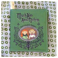 Made to order PUFFY Shakespeare's Much Ado About by LittleLiterary, $19.00