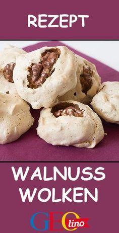 Im Oktober ist nun die Walnuss herangereift – rechtzeitig, um in der Vorweihnach… In October, the walnut has matured – in time to be processed in the run-up to Christmas cookies! Easy Cookie Recipes, Dessert Recipes, Dinner Recipes, Meatloaf Recipes, Air Fryer Recipes, Kids Meals, Biscuits, Bakery, Food And Drink