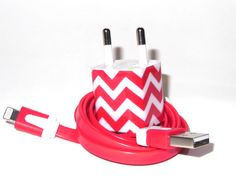 Traveling to Europe? Take along an decorated iPhone Charger from Personal Power www.etsy.com/shop/PersonalPower