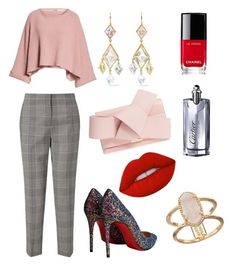 """""""Untitled #16"""" by andela-balazova on Polyvore featuring Jigsaw, Free People, Ted Baker, Christian Louboutin, Marie Hélène de Taillac, Kendra Scott, Lime Crime, Chanel, Cartier and pastelsweaters"""
