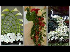 Eco-friendly, Living Succulent Moss Wreaths for Green Christmas Decor Unique Flower Arrangements, Unique Flowers, Fresh Flowers, Coconut Leaves, Moss Wreath, Vase Centerpieces, Tutorial, Flower Designs, Paper Flowers