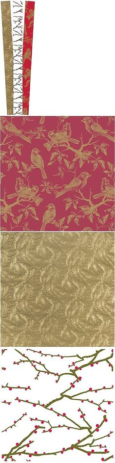 Wrapping Paper 102383: Bella Lux Birch Embossed Gift Wrap Paper ...