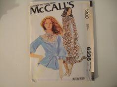 McCalls Pattern 6336 size 16 uncut by KalimahsKreationsLLC on Etsy