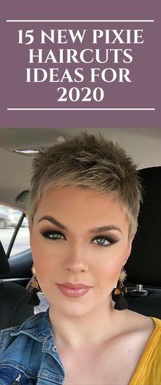 2020 trend kurz grau 15 New Pixie Haircuts Ideas for 2020 Pixie Haircut Styles, Pixie Haircut For Thick Hair, Haircut For Older Women, Short Pixie Haircuts, Super Short Hairstyles, Diy Hairstyles, Short Hair Cuts For Women Pixie, Super Short Pixie Cuts, Undercut Pixie Haircut