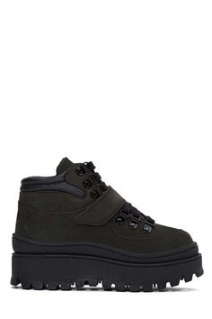 JC Play by Jeffrey Campbell Top Peak Boot - Black - Shoes   Lace-Up   Boots   Sneakers   High-Tops   Jeffrey Campbell