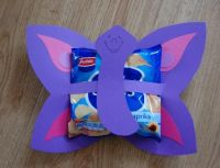 Vlinder met chips
