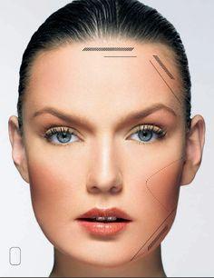 Contour square face