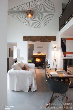 Rénovation d'une ancienne ferme en Haute Savoie, Haute Savoie, bassin genevois, Marque de Fabrik - décorateur d'intérieur