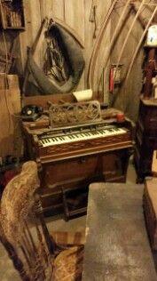 Taylor and Farley reed organ