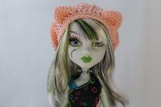 Kitty oreille Beret Monster High, Lati, BJD Pukifee personnalisé Slouch Hat, vous choisissez la couleur