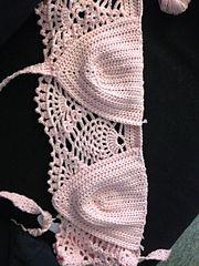 Ravelry: Pineapple Lace summer halter neck top pattern by Melissa Bjerregaard