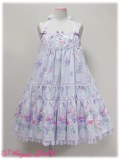 Angelic Pretty » Jumper Skirt » Sugar Pansy Doll JSK