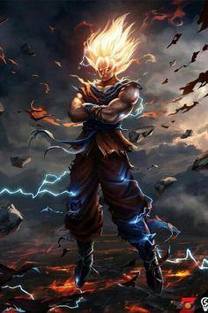 Goku Illustrated Realism