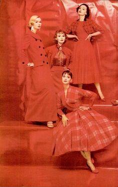 1950's Ravishing Red